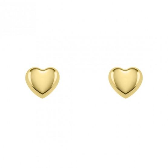 Pendientes de bebé con forma de corazón (03260901)