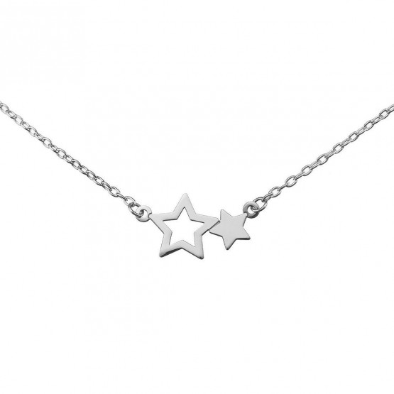 Gargantilla de plata ley 925 estrellas (38400250)