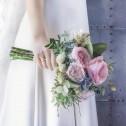 Alianza de boda oro bicolor de media caña con ranuras 4mm D3040C00A