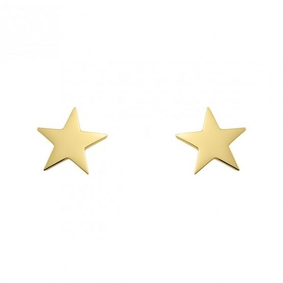 Pendientes de oro con forma de estrella (6A8307300A)
