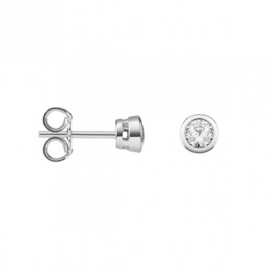 Pendientes de Diamantes y platino (75B0100)