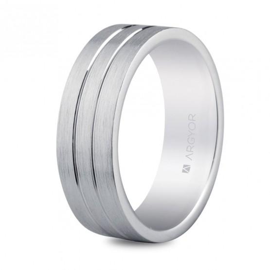 Alianza plata 6mm confort (5765052N)
