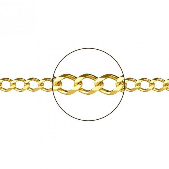 Cadena de oro barbada (0944207060)