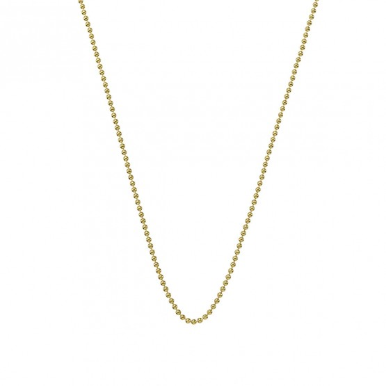 Collar cadena de bolas en oro 1.40mm (0410110A)