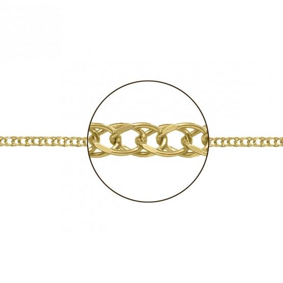 Cadena de oro 18k en forma de espiga (066251020)