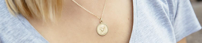 Medallas de la Virgen en oro y plata | Argyor.es
